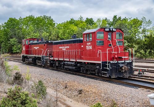 Burlington Junction Railway BJRY 1514 (SW1200) Fenton, Missouri