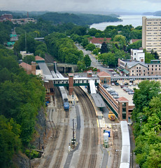 Poughkeepsie Station from Above