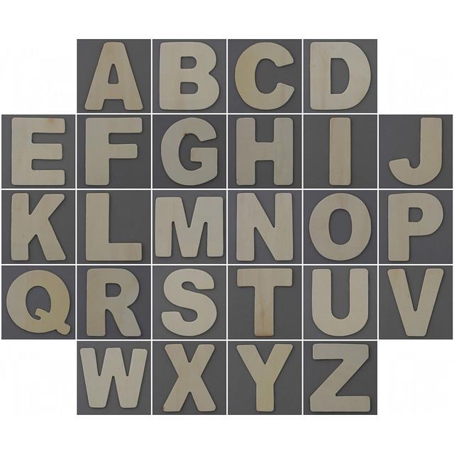 Photo:Wooden alphabet By Leo Reynolds