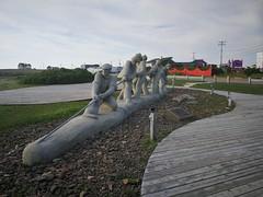 Monument aux pêcheurs, Roger Langevin.