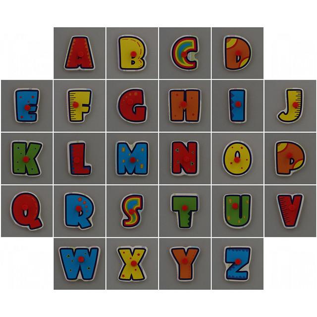 Photo:WOODWORKS Alphabet By Leo Reynolds