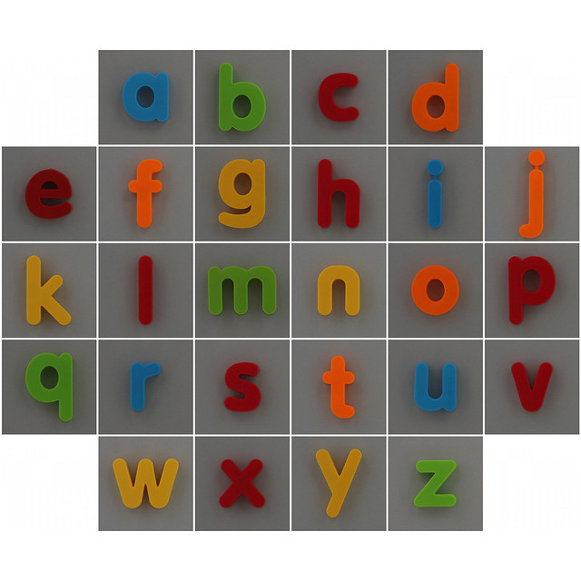 Photo:creative play magnetic alphabet By Leo Reynolds