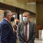 13-5-2021 Visita Philippe Lazzarini, Comissionat General Nacions Unides per la població refugiada de Palestina