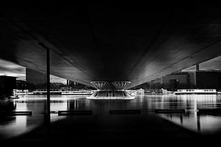 Architecture Brigde over the Seine