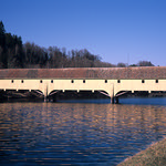 Zollbrücke Rheinau (Voigtländer Bessa II / MF Provia)