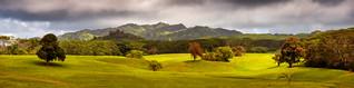 Beautiful Valley on the Island of Kauai
