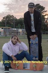 Skateboarders Group Shot #2