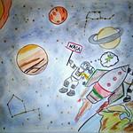063 - Avventura nello spazio di Vincenzo 9 anni
