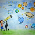 044 - Osservando lo spazio di Mikhael 10 anni