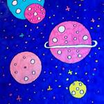 098 - Pianeti tra le stelle di Martina 11 anni
