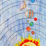 023 - Il mio Sistema Solare di Alberto 14 anni