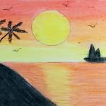017 - Un tramonto d'estate di Sophia 11 anni