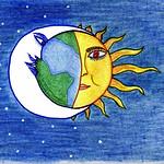091 - L_abbraccio della Luna di Anna 8 anni
