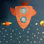 002 - Astronave nello spazio di MariaChiara 9 anni