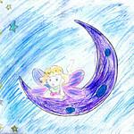 096 - Disegno il cielo di Marialuce 9 anni