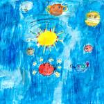 076 - Sistema Solare e Pleiadi di Zoe 8 anni