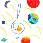 073 - La musica dell'Universo di Bianca 7 anni
