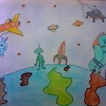 049 - Visione dello spazio di Alessandro 9 anni