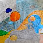 096 - Sistema Solare a colori di Antonio 13 anni