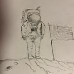 094 - Il primo uomo sulla Luna di Anna 13 anni