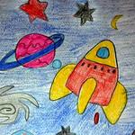 084 - Astronave nello spazio di Gresy 12 anni