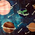 042 - La Galassia e la mia creatività di Dulanjali 12 anni