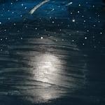 062 - Il cielo alla sera di Simone 13 anni
