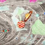 085 - Il Sistema Solare di Ivan 9 anni