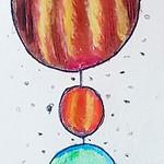 050 - Solar system di Chiara Agata 10 anni