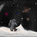 046 - Pulizie sulla Luna di Martina Pia 10 anni