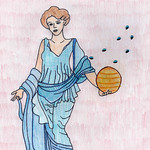042 - Venere e le Pleiadi di Angelica 10 anni
