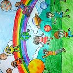 086 - I colori dell_Universo di Giuseppe 9 anni