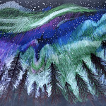 071 - A caccia dell_Aurora Boreale! di Alice 9 anni
