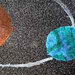 047 - Il buio brillante dell'Universo di Alessandro 8 anni