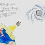 035 - La Terra e il buco nero di Jacopo 8 anni