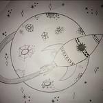 028 - Giro intorno alla Luna di Nicolò 8 anni