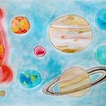 068 - Il Sistema Solare di Sara 8 anni