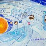 093 - Il Sistema Solare di Tatiana 13 anni