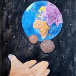 064 - La Terra, un popolo, tutti uniti di Martina 11 anni