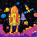 010 - Viaggio intergalattico di Diego 11 anni