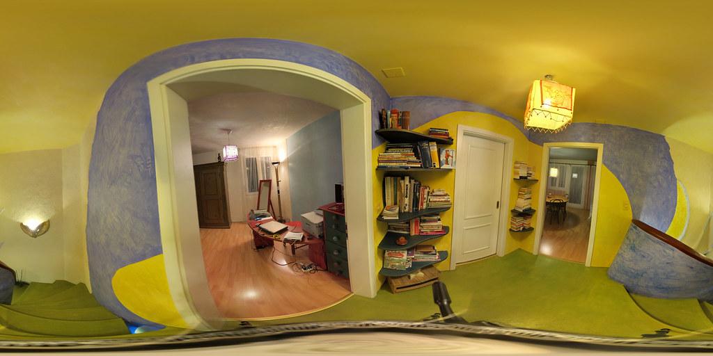 Visite virtuelle distribution étage rénovation décoration et ambiances