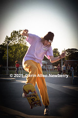 Yellow Pants Capped Skater
