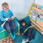 1e leerjaar houdt van kwartierlezen
