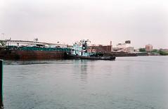 Tugboat in Newtown Creek