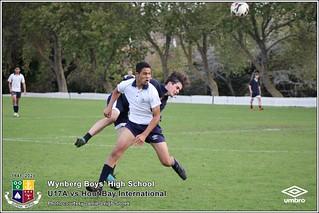 WBHS Soccer: U17A vs Hout Bay Int