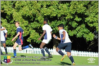 WBHS Soccer: U15B vs Hout Bay Int U15A