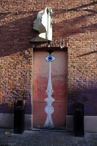 'Third Eye', Streetart Ghent, Belgium
