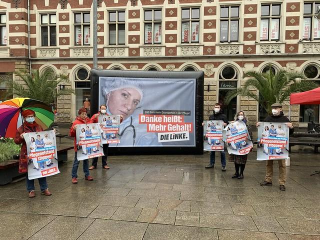 Photo:Kampagnen-Auftakt in Erfurt (12.05.21) By DIE LINKE. Thüringen