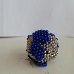 7 - Terra fatta con sfere magnetiche di Jacopo 13 anni_a