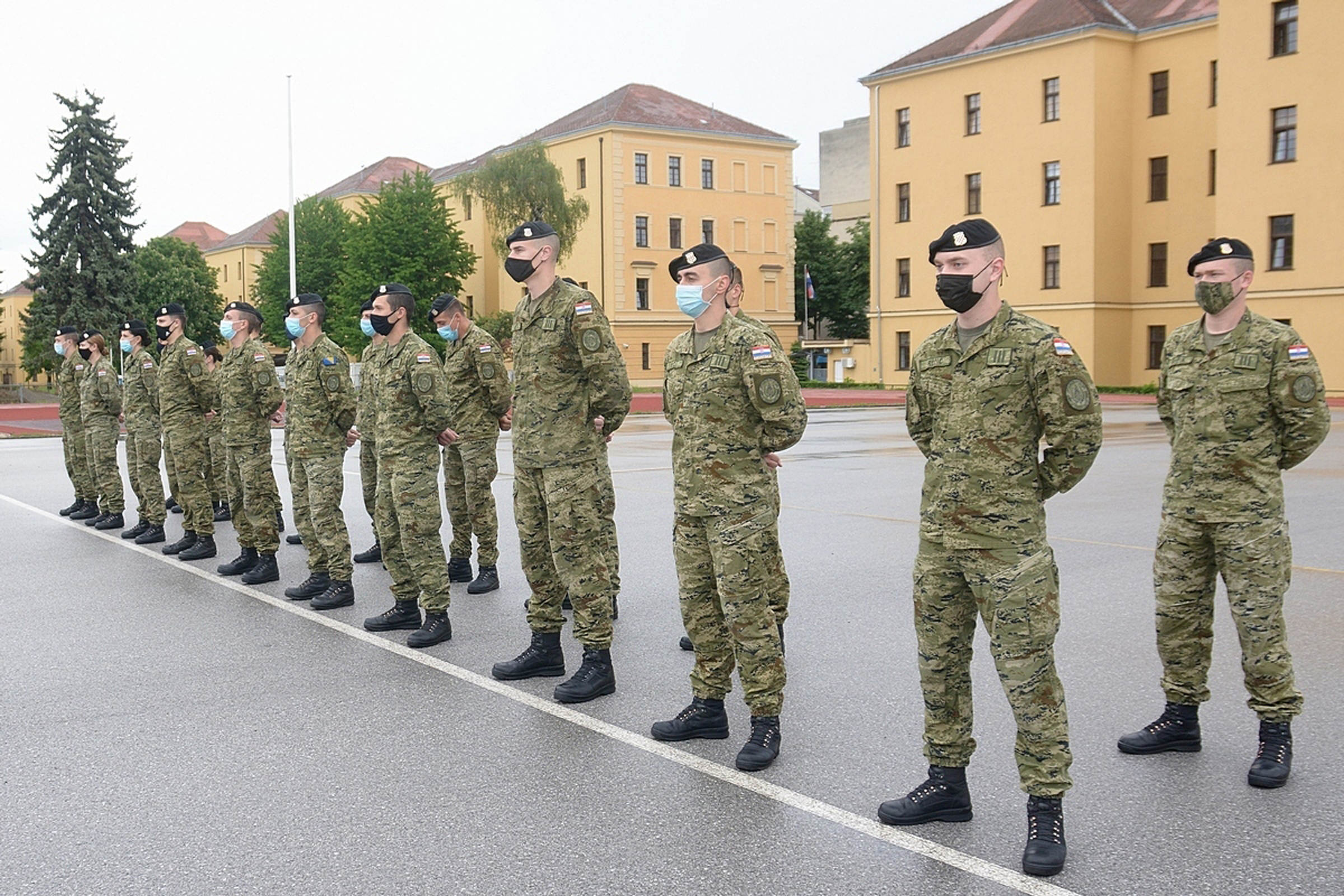 "Obilježena 18. obljetnica osnutka Kadetske bojne ""Predrag Matanović"""